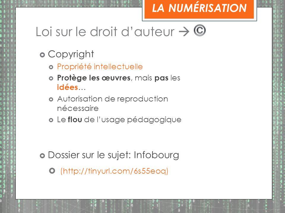Loi sur le droit d'auteur  ©