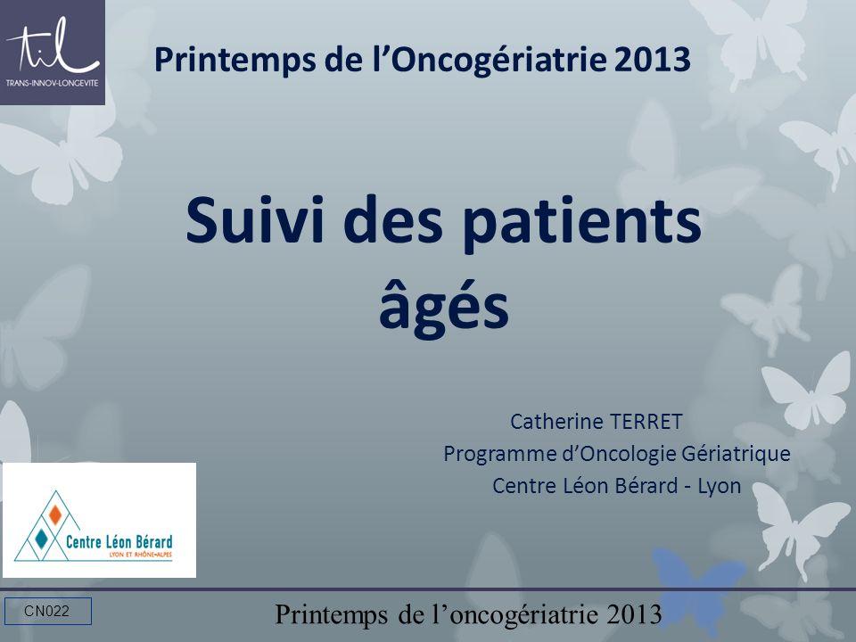 Suivi des patients âgés