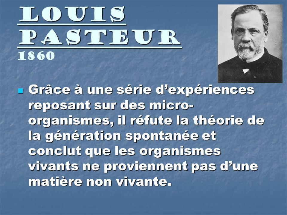 Louis Pasteur 1860