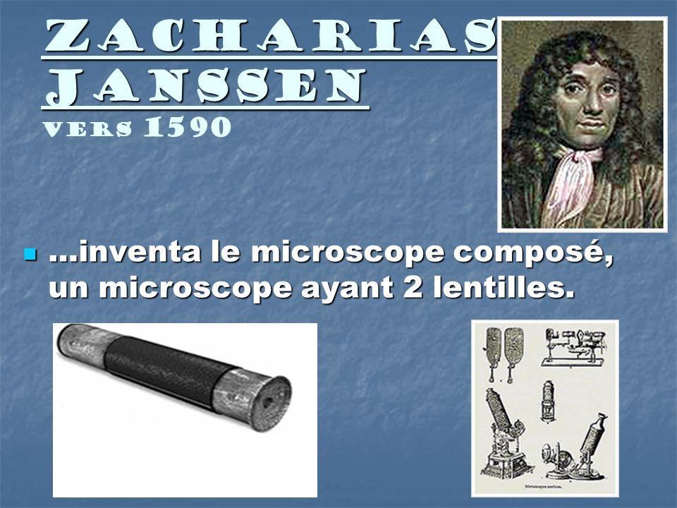 Zacharias Janssen Vers 1590