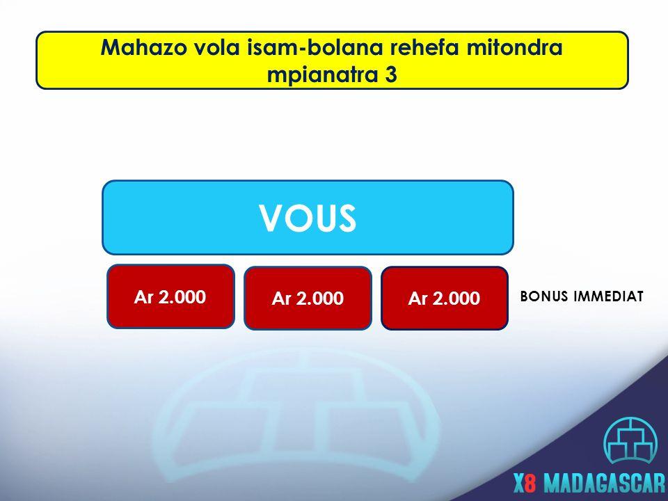 Mahazo vola isam-bolana rehefa mitondra mpianatra 3