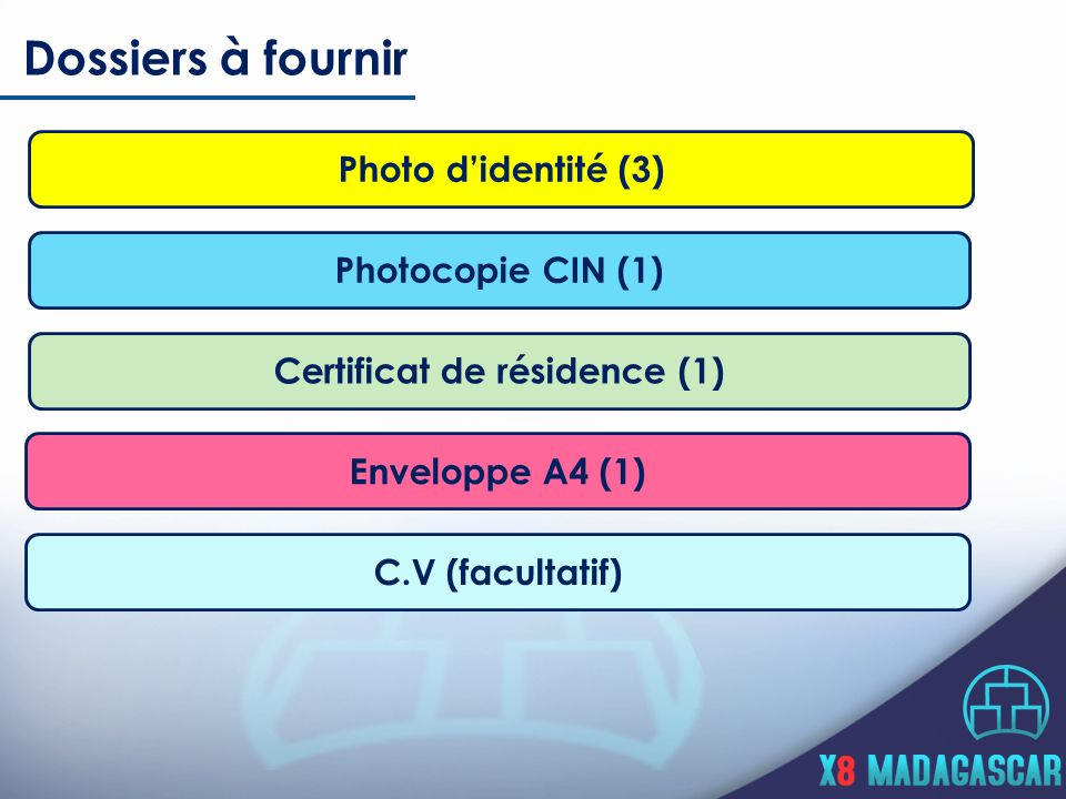 Certificat de résidence (1)