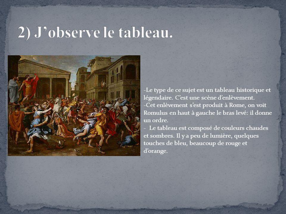 Très L'enlèvement des Sabines » Nicolas Poussin - ppt télécharger BD23