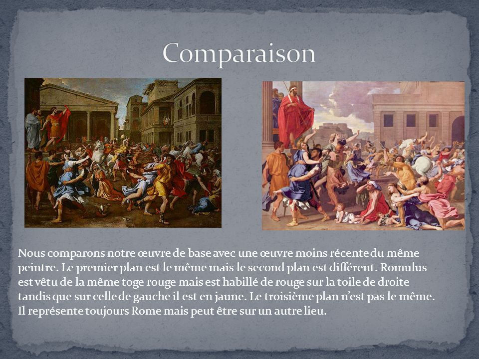 Comparaison