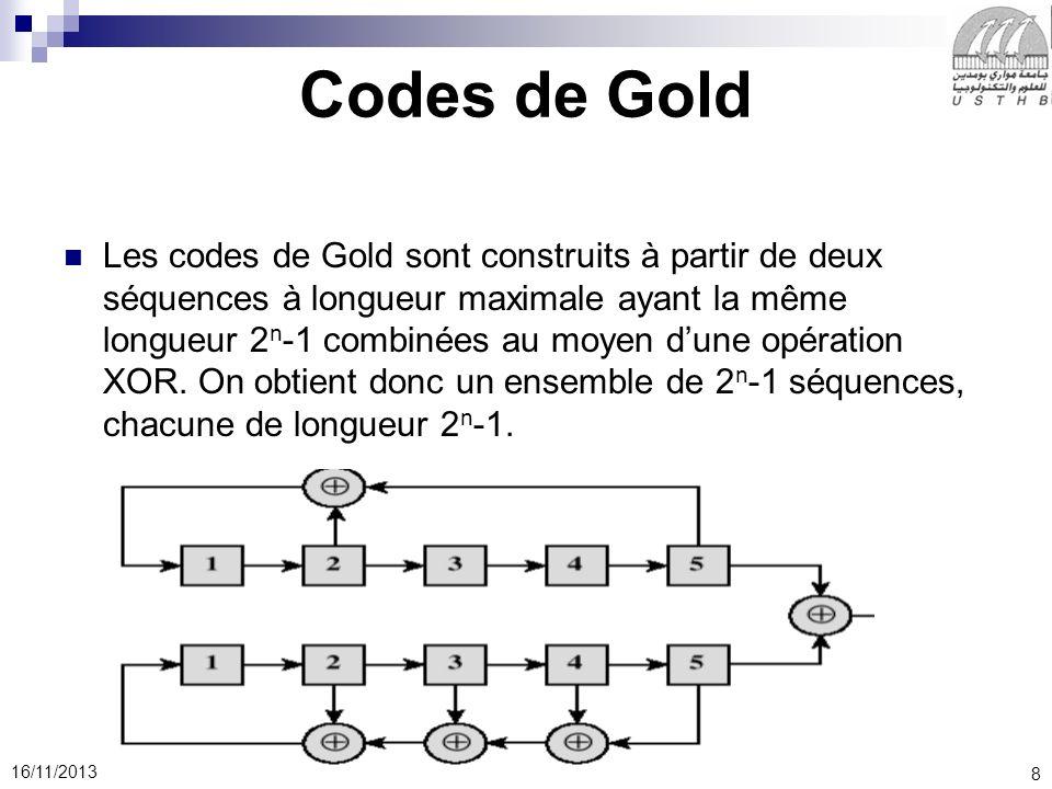 Codes de Gold