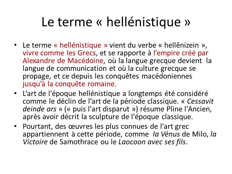 Le terme « hellénistique »