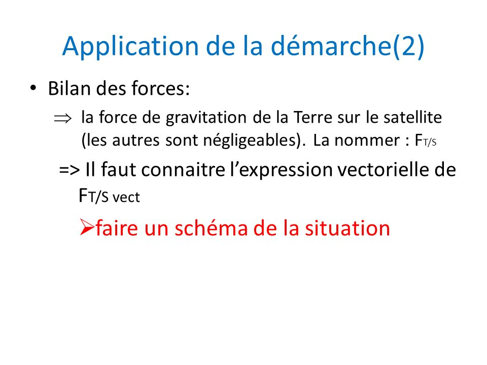 Application de la démarche(2)