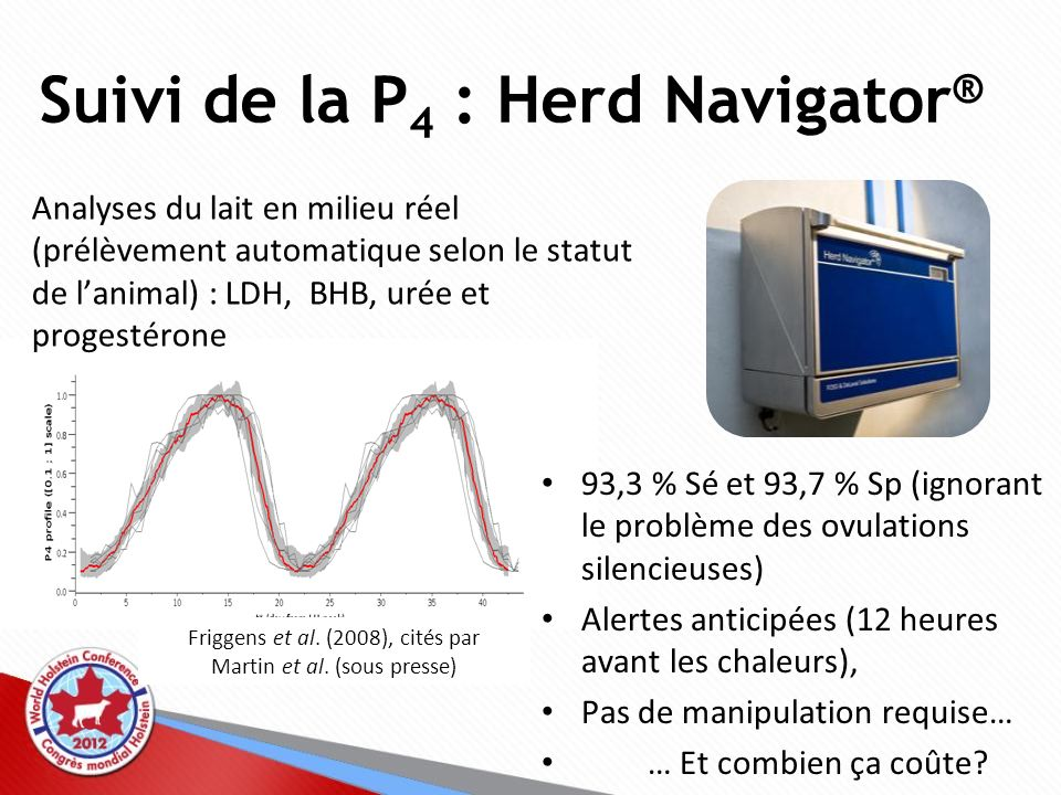Suivi de la P4 : Herd Navigator®