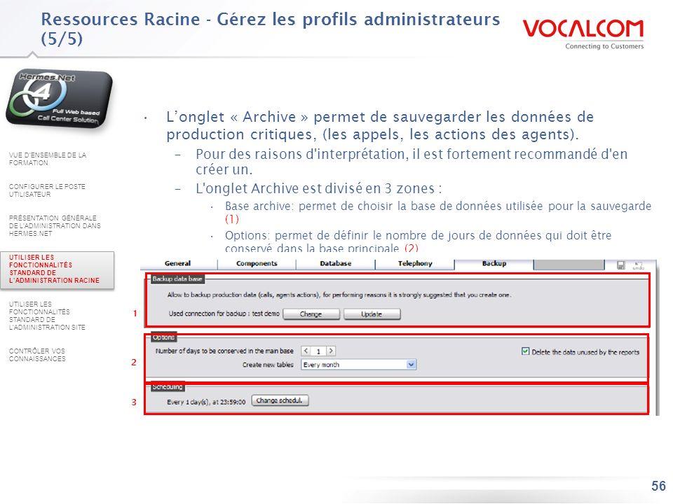 Ressources Racine - Savoir créer un proxy CTI (1/2)
