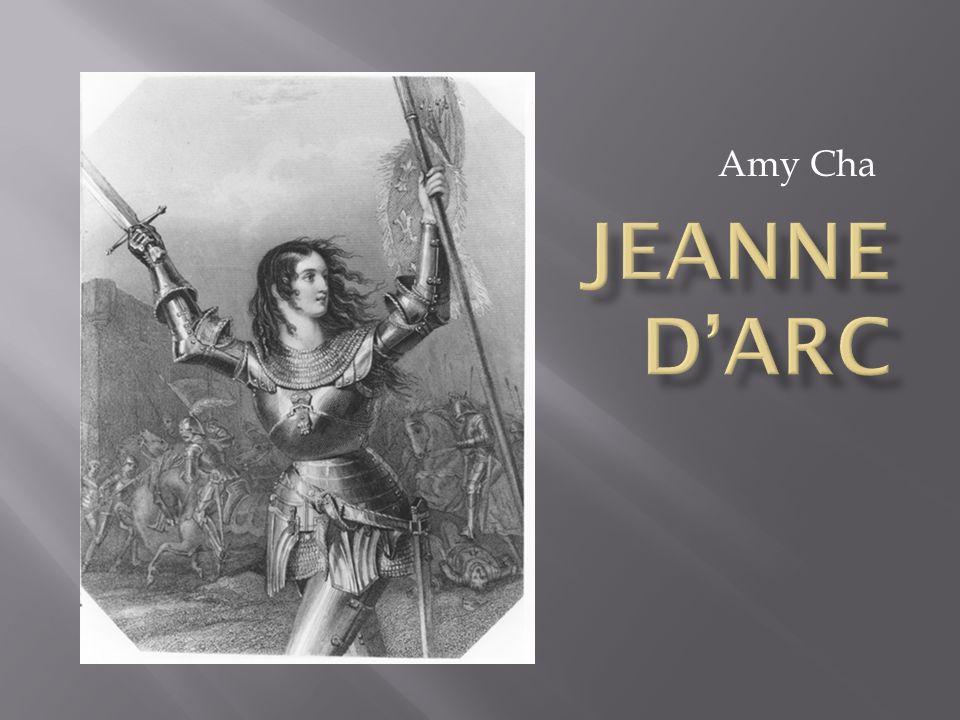 Amy Cha Jeanne D'Arc