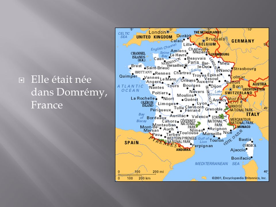 Elle était née dans Domrémy, France