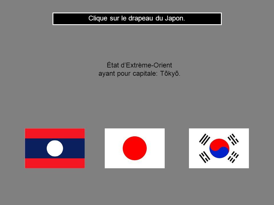 Clique sur le drapeau du Japon.
