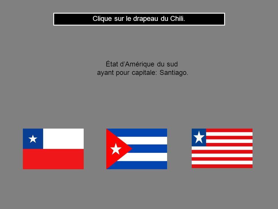 Clique sur le drapeau du Chili.