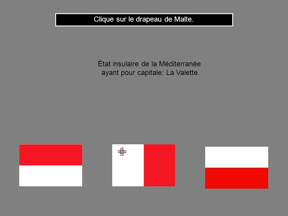 Clique sur le drapeau de Malte.