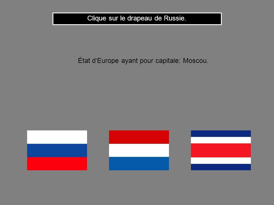 Clique sur le drapeau de Russie.