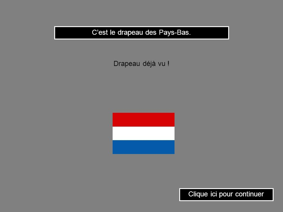C'est le drapeau des Pays-Bas.
