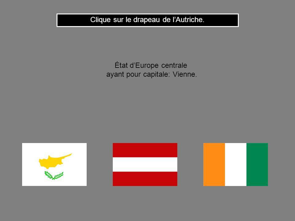 Clique sur le drapeau de l'Autriche.