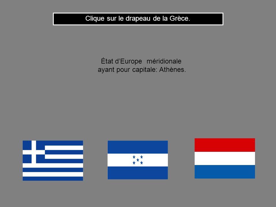 Clique sur le drapeau de la Grèce.