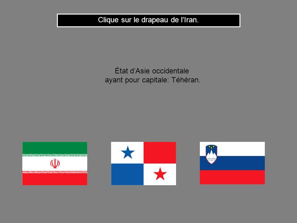 Clique sur le drapeau de l'Iran.