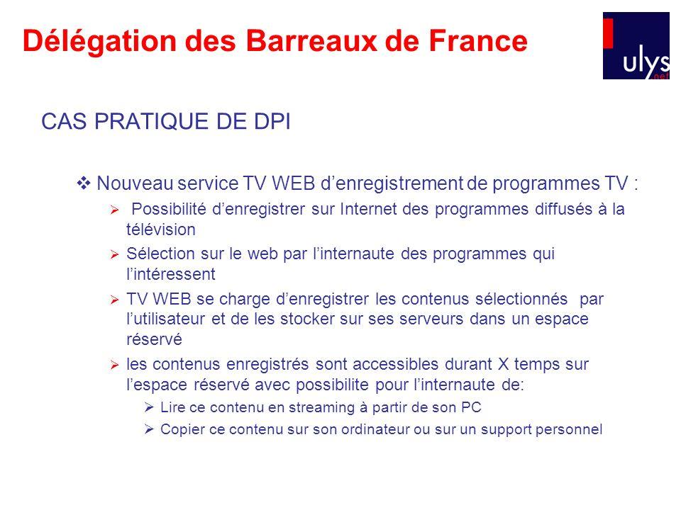 Délégation des Barreaux de France