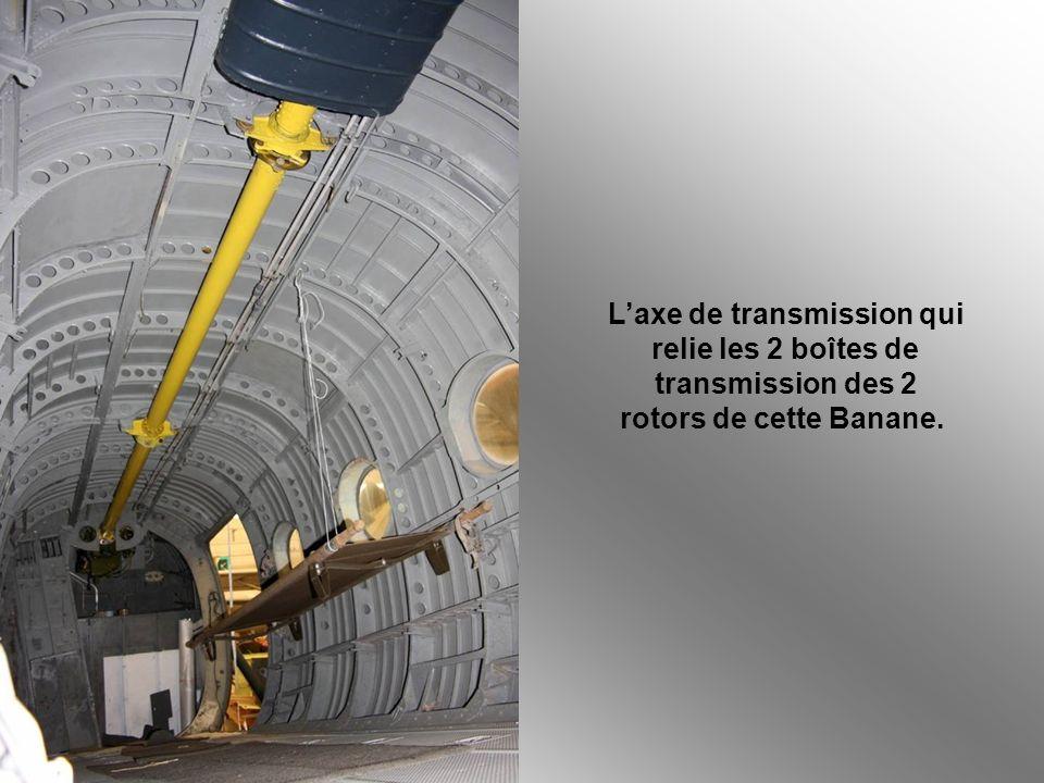 L'axe de transmission qui