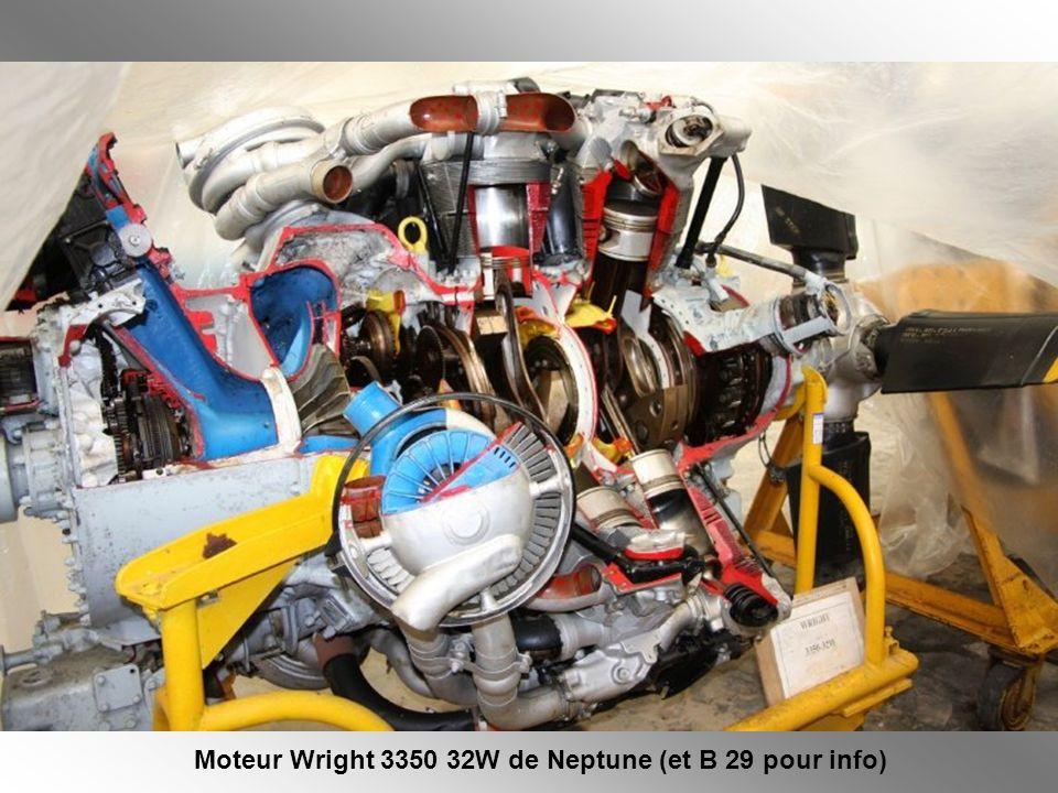Moteur Wright 3350 32W de Neptune (et B 29 pour info)