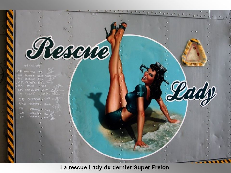 La rescue Lady du dernier Super Frelon
