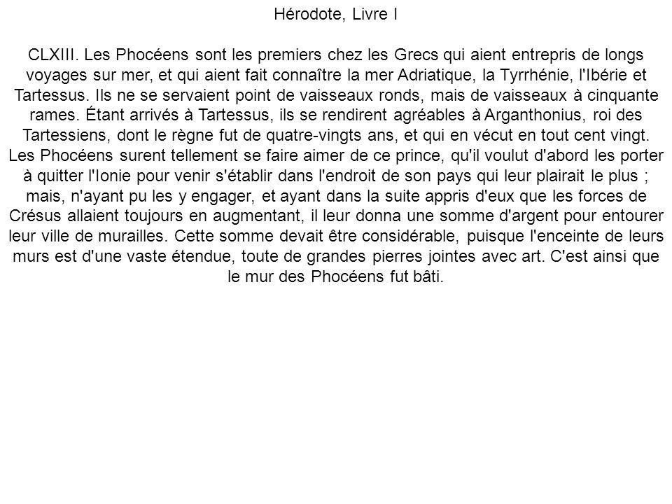 Hérodote, Livre I