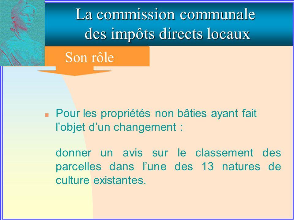 2. Le rôle de la commission communale