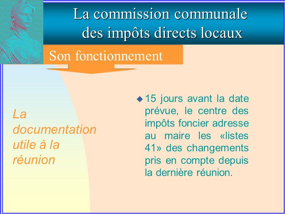 3. Le fonctionnement de la commission communale