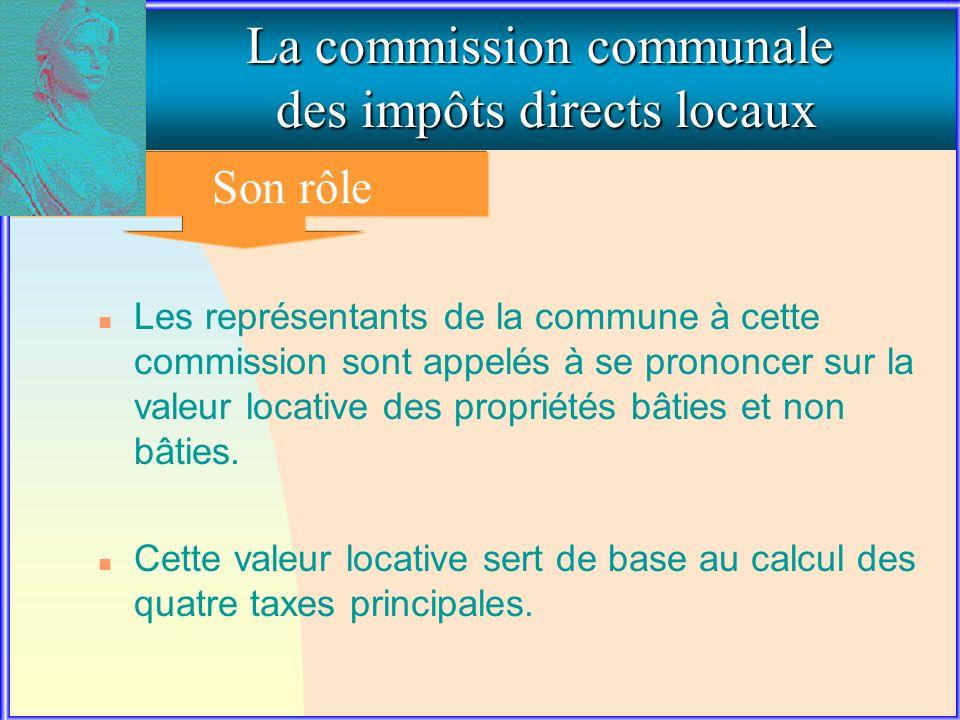 2. LE ROLE DE LA COMMISSION COMMUNALE
