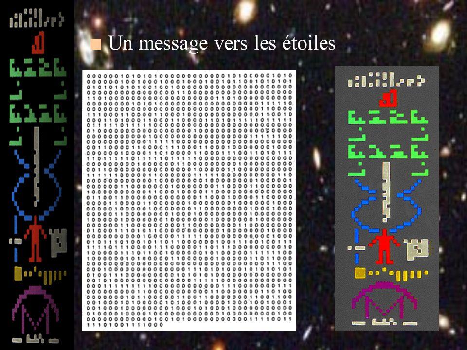 Un message vers les étoiles