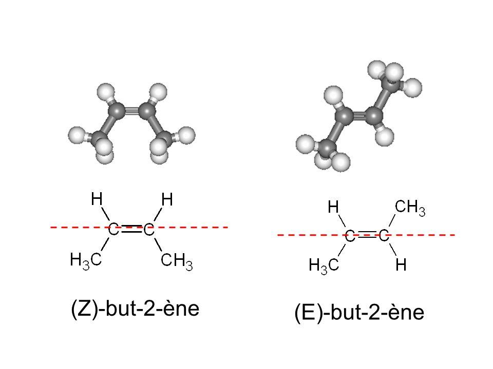 (Z)-but-2-ène (E)-but-2-ène