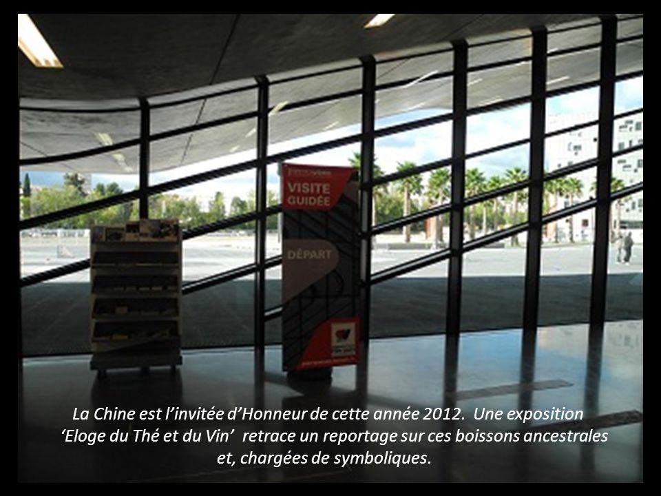 La Chine est l'invitée d'Honneur de cette année 2012. Une exposition
