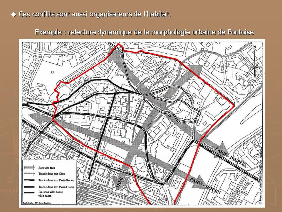 Exemple : relecture dynamique de la morphologie urbaine de Pontoise