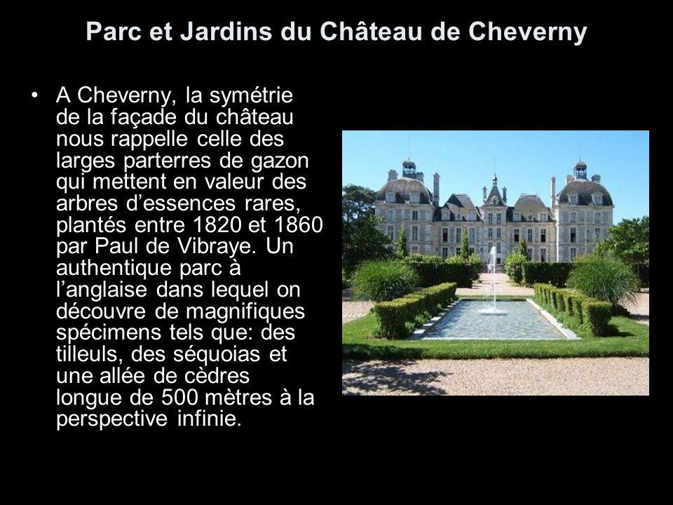 Parc et Jardins du Château de Cheverny