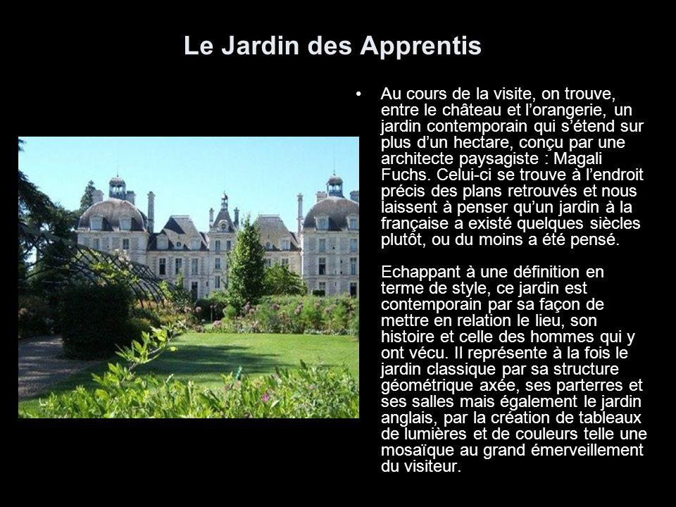 Le ch teau de cheverny ppt video online t l charger for Jardin anglais definition