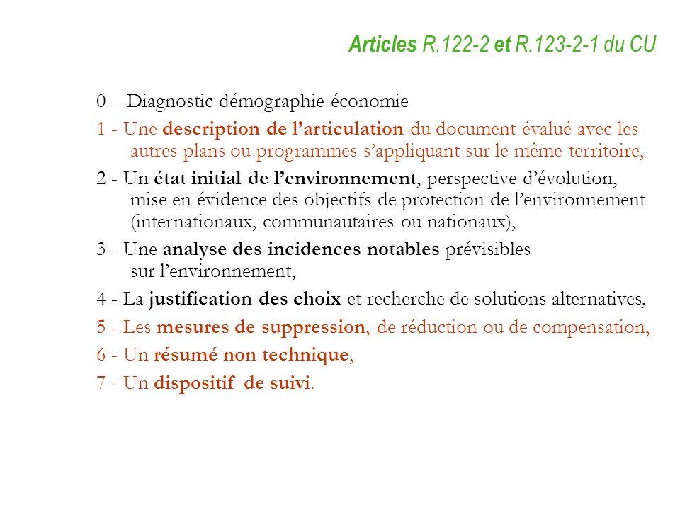 0 – Diagnostic démographie-économie