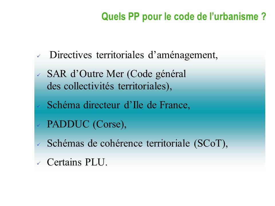Directives territoriales d'aménagement,