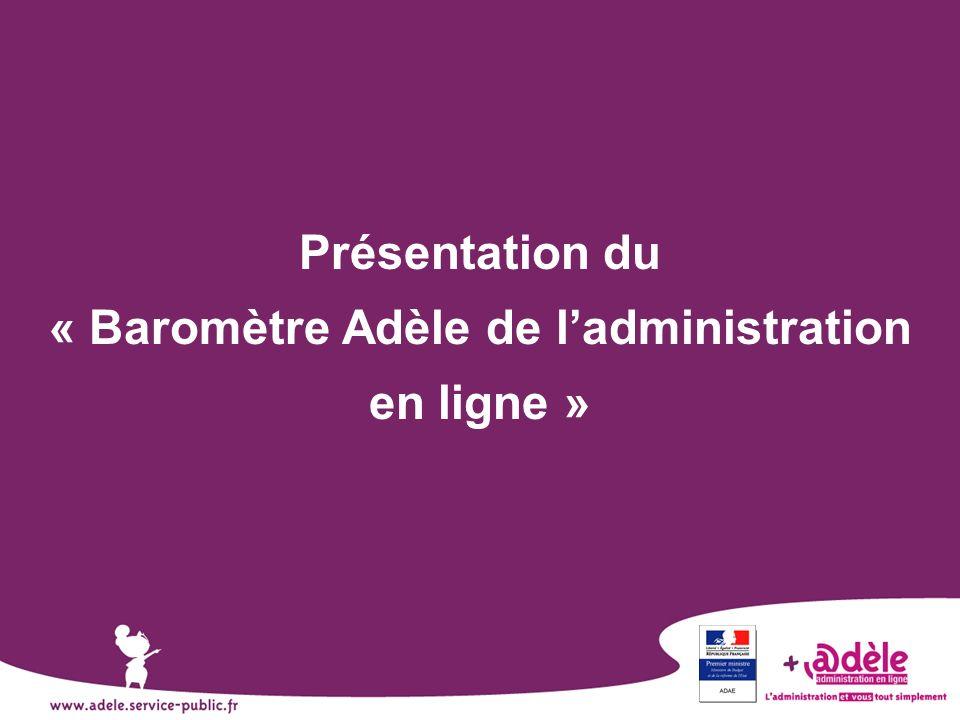 « Baromètre Adèle de l'administration