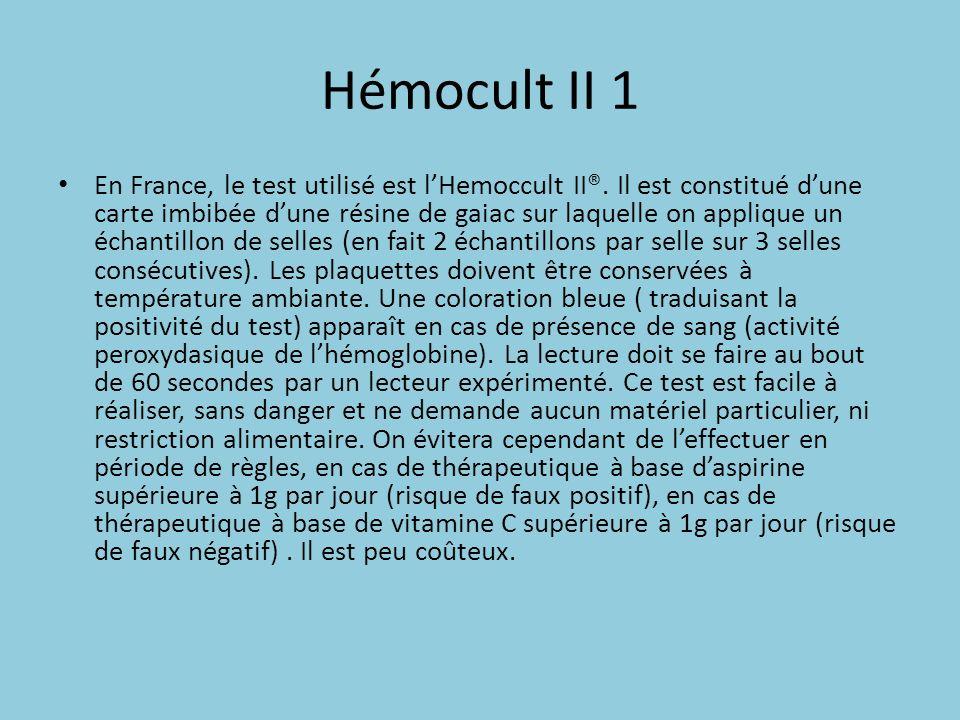 Hémocult II 1