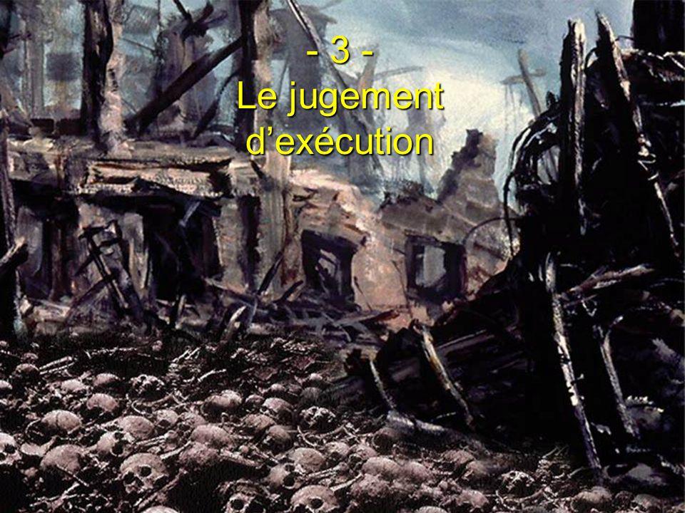 - 3 - Le jugement d'exécution