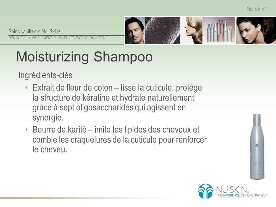 Moisturizing Shampoo Ingrédients-clés