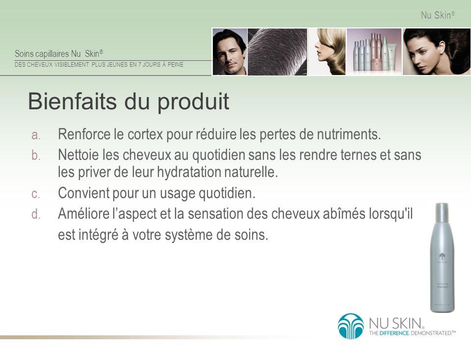 Bienfaits du produit Renforce le cortex pour réduire les pertes de nutriments.