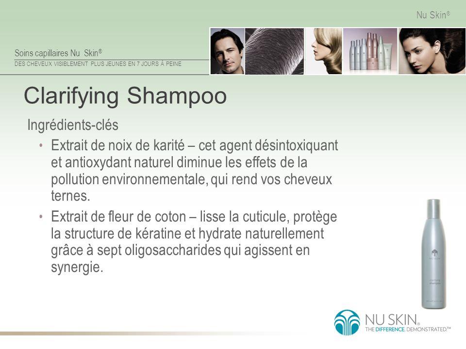 Clarifying Shampoo Ingrédients-clés