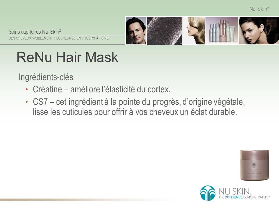 ReNu Hair Mask Ingrédients-clés