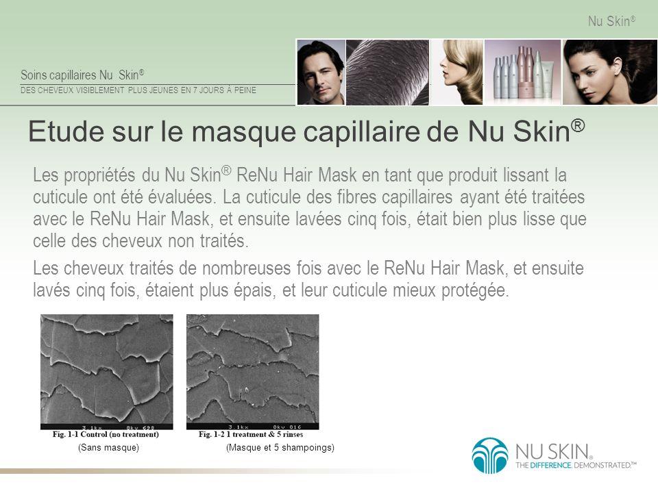 Etude sur le masque capillaire de Nu Skin®