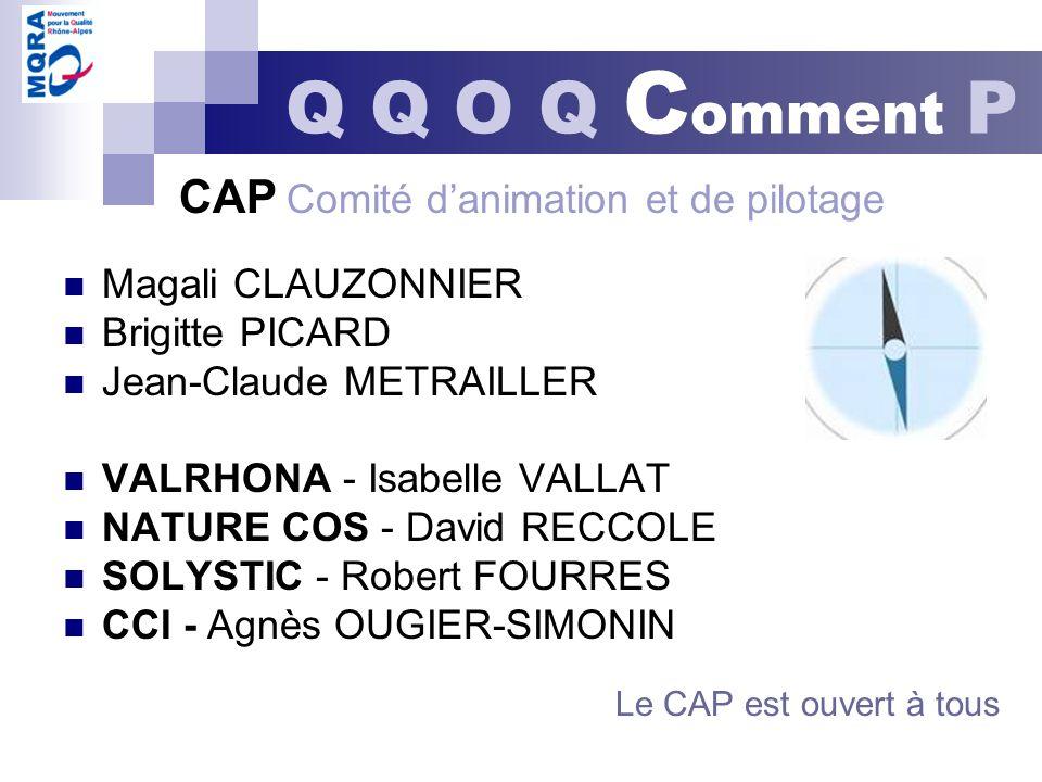 CAP Comité d'animation et de pilotage