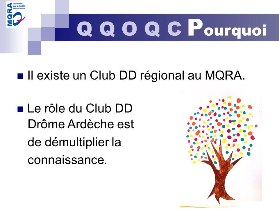 Q Q O Q C Pourquoi Il existe un Club DD régional au MQRA.
