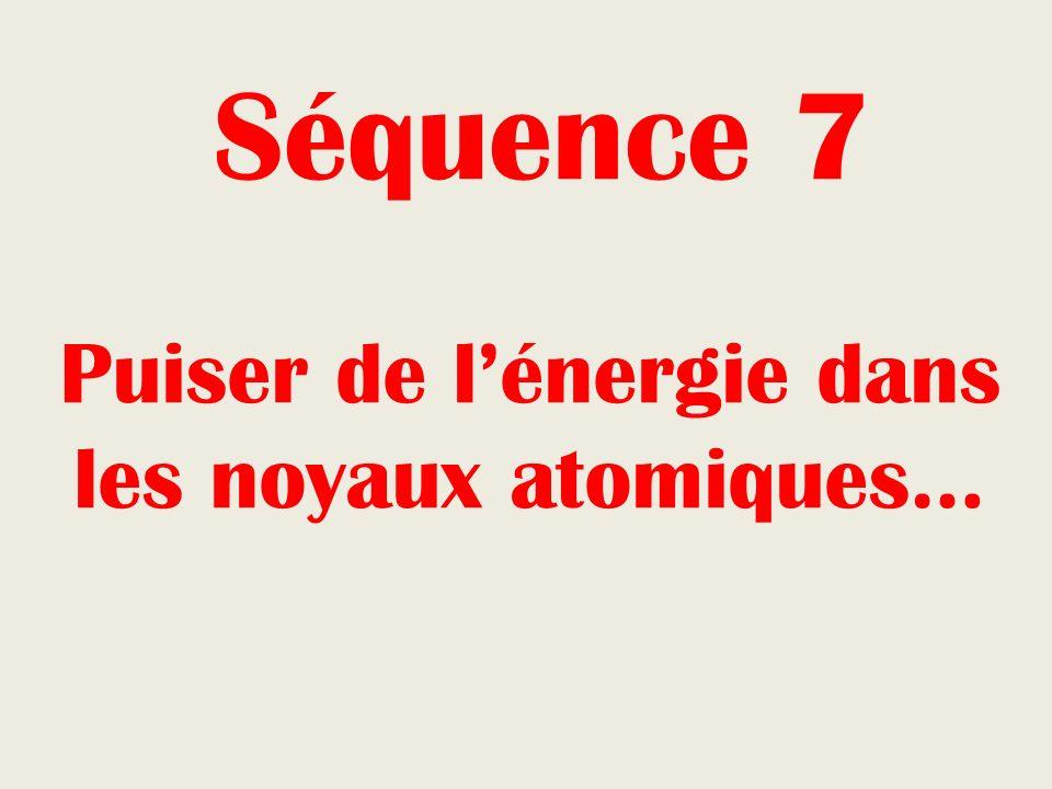 Puiser de l'énergie dans les noyaux atomiques…